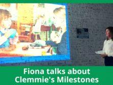 L4Life Autism AbiliTEA Fiona talks about Clemmie's Milestones