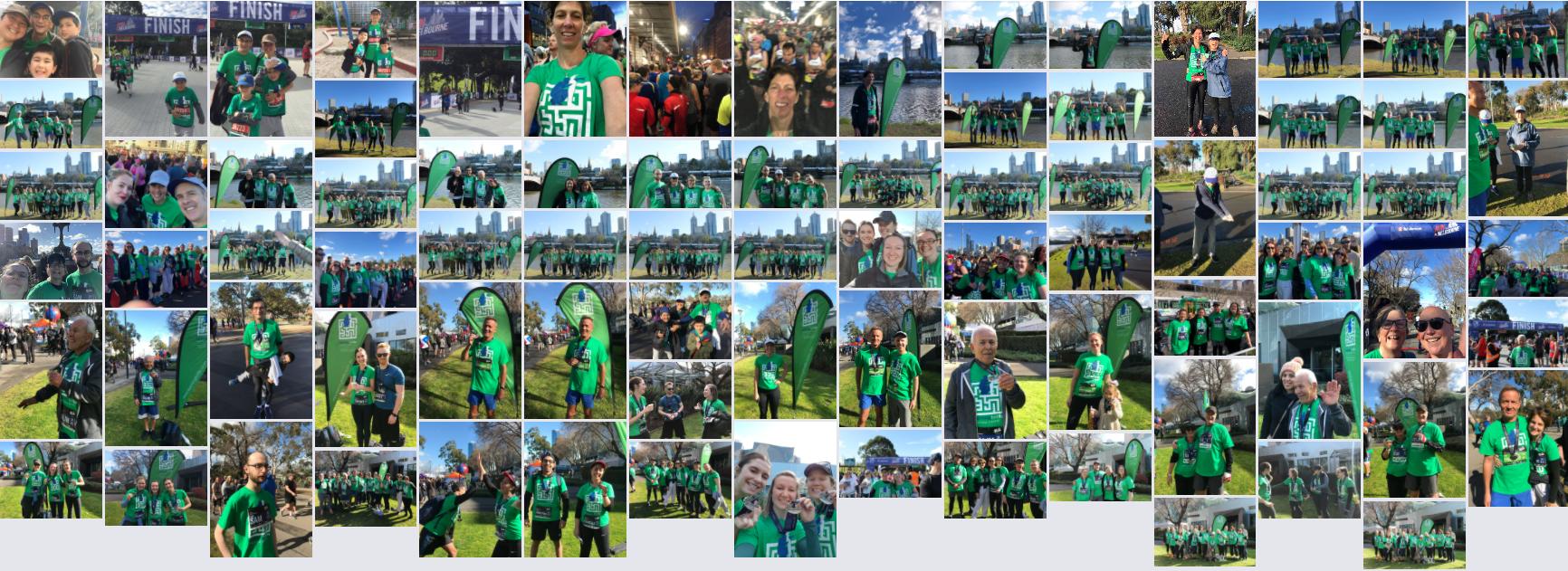 Team L4Life at Run Melbourne 2018 - photo album