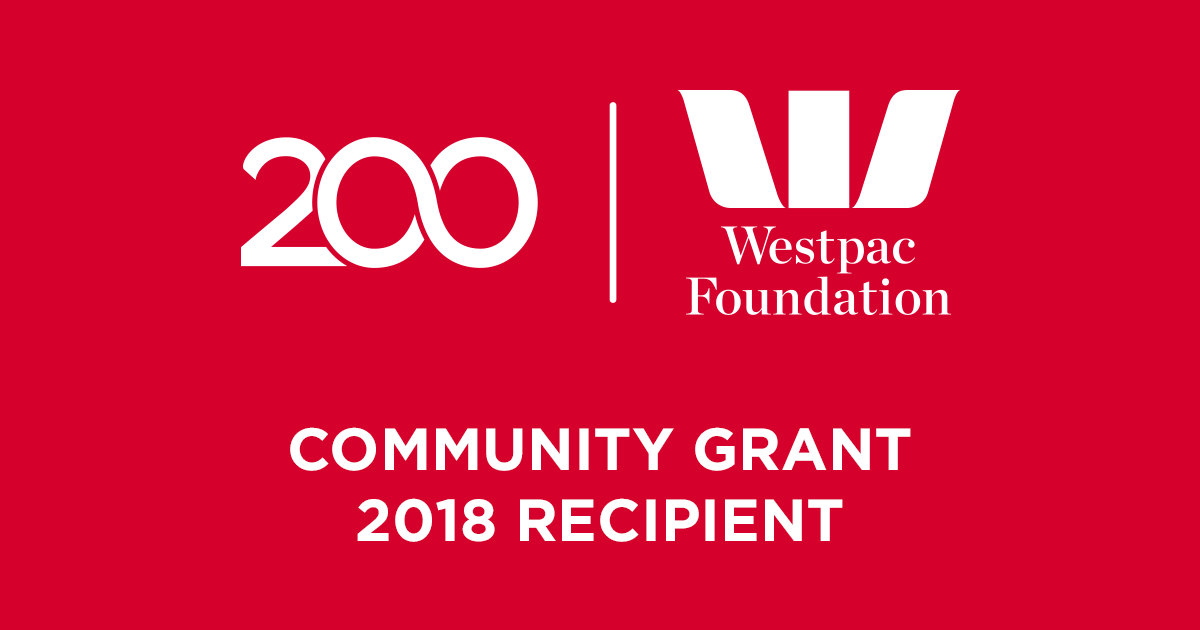 L4Life Awarded a 2018 Westpac Foundation Community Grant