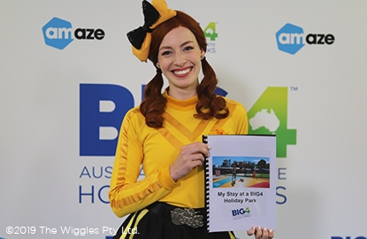 The Wiggles and Big4 team up