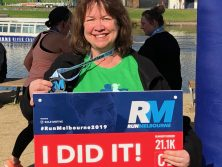 Pam DID IT at Run Melbourne 2019