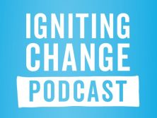 Mary Muirhead featuring on Igniting Change Podcast