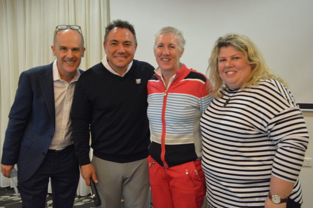 2019 L4Life Golf - Tammy with Urzila, Tom & Sam