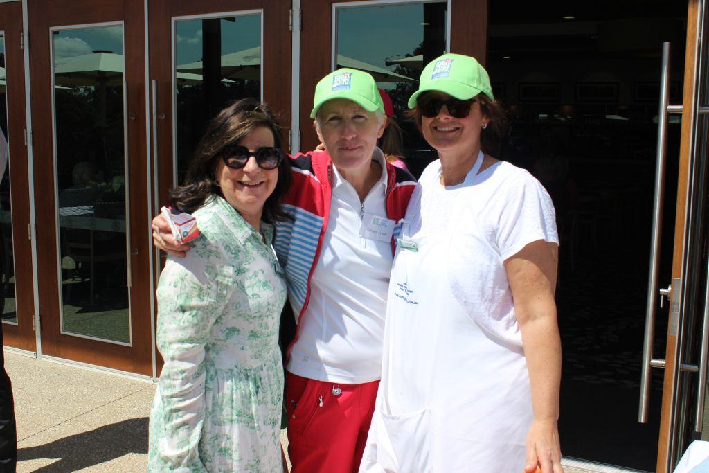 2019 L4Life Golf - Tammy with Robbie & Sue