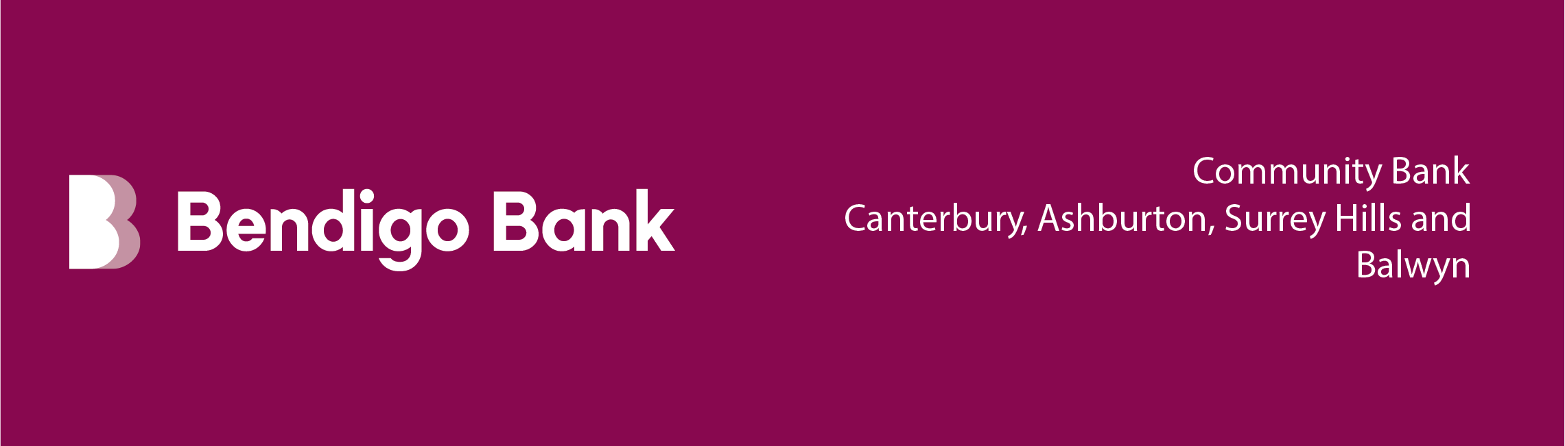 2021 L4Life Lunch With Kitty Event Sponsor - Bendigo Bank
