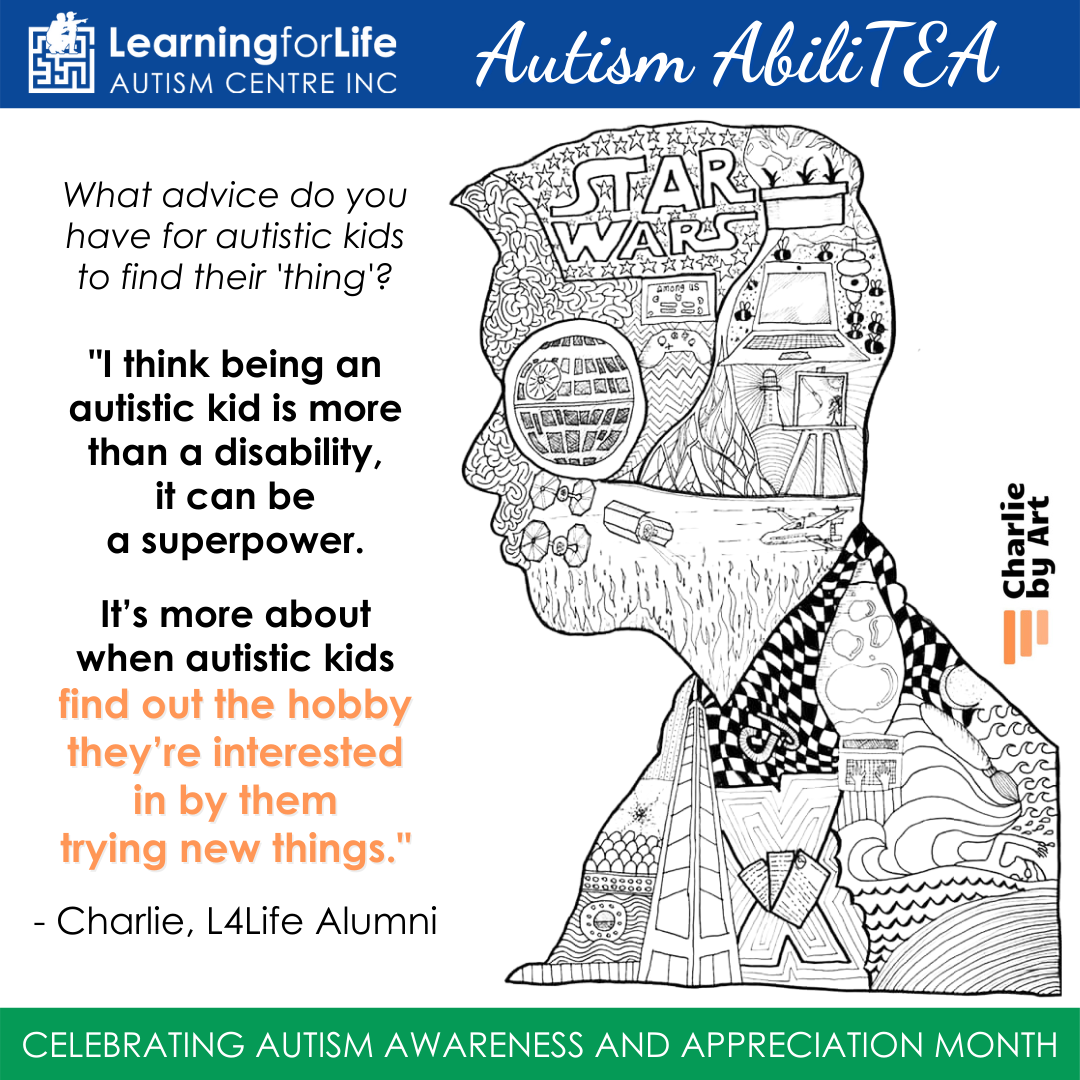 L4Life celebrates World Autism Awareness and Appreciation Day 2021 - featuring Charlie