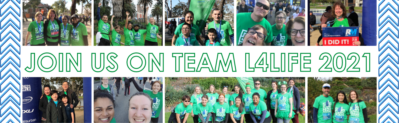 Join Team L4Life at Run Melbourne 2021