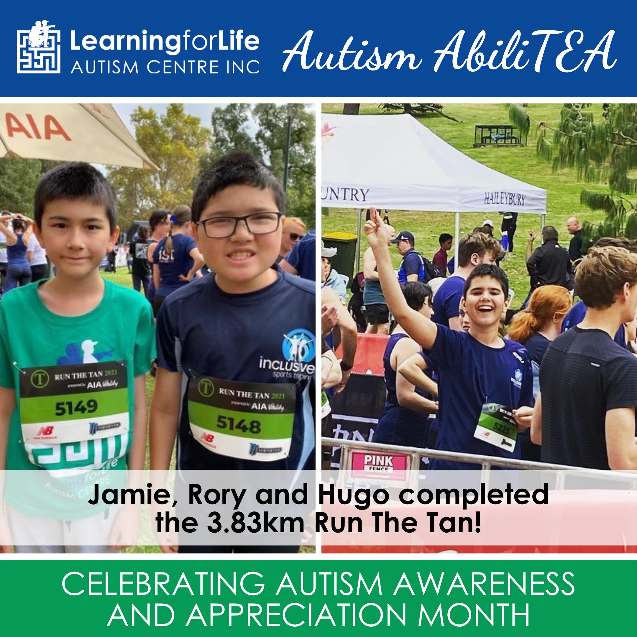 2021 L4Life's Autism AbiliTEA - runners